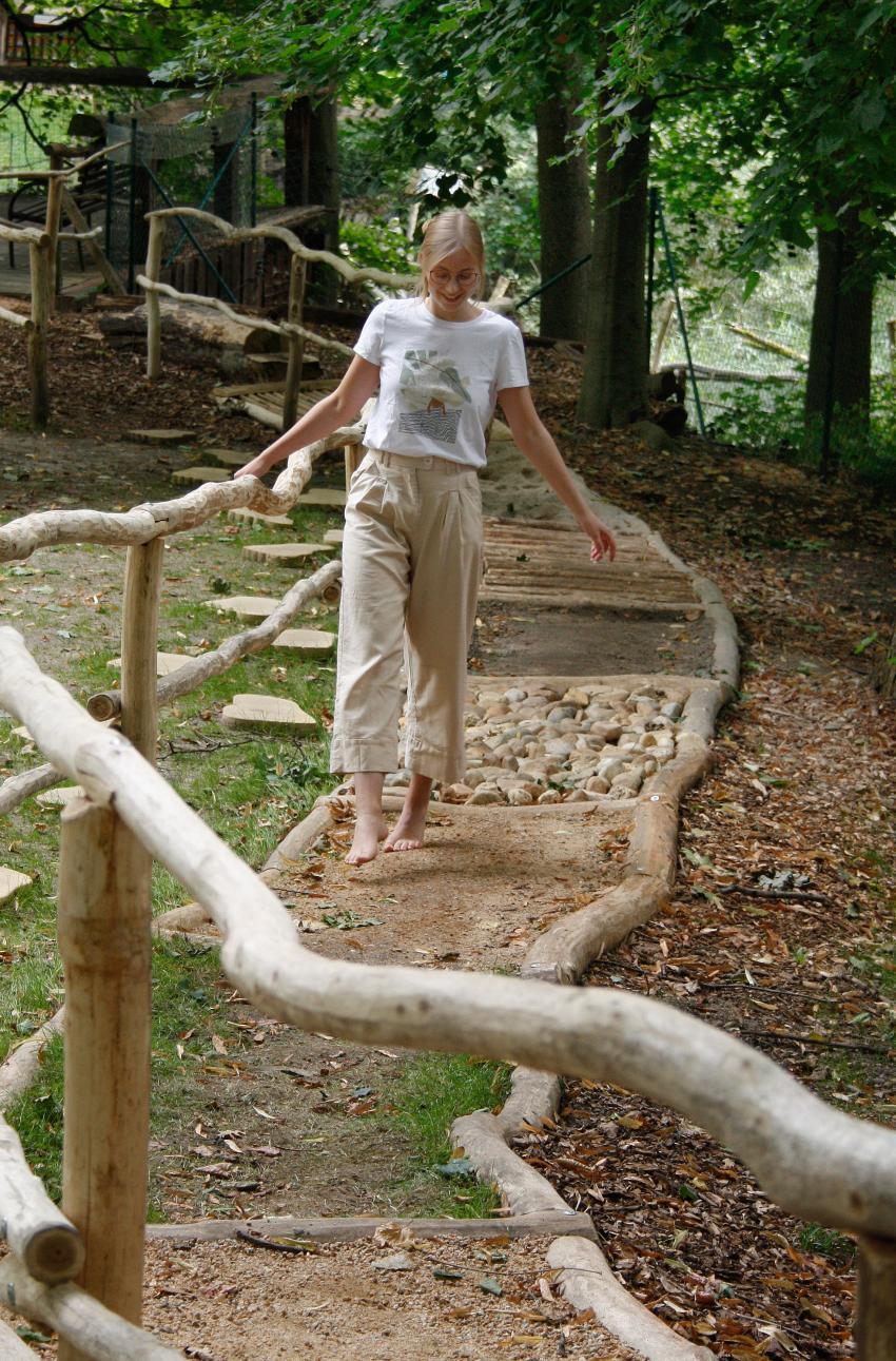 Ścieżka sensoryczna w Naszym Zoo Zgorzelec-Goerlitz / fot. www.zoo-goerlitz.de, I. Plath