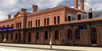 Tak będzie wyglądał dworzec kolejowy w Węglińcu po przebudowie. Zobacz wizualizację! - zdjęcie nr 2