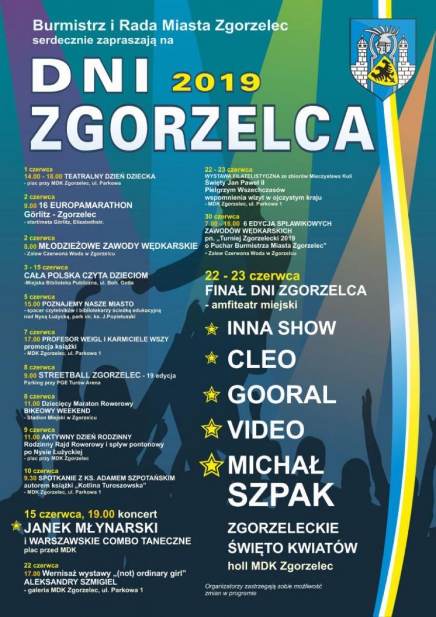 Program Dni Zgorzelca 2019