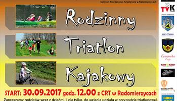 Rodzinny Triathlon Kajakowy