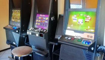 Zarekwirowane automaty do gier / fot. KPP Zgorzelec