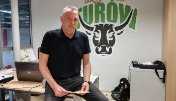 """Piotr Borowy, prezes koszykarskiego """"nowego"""" Turowa Zgorzelec"""