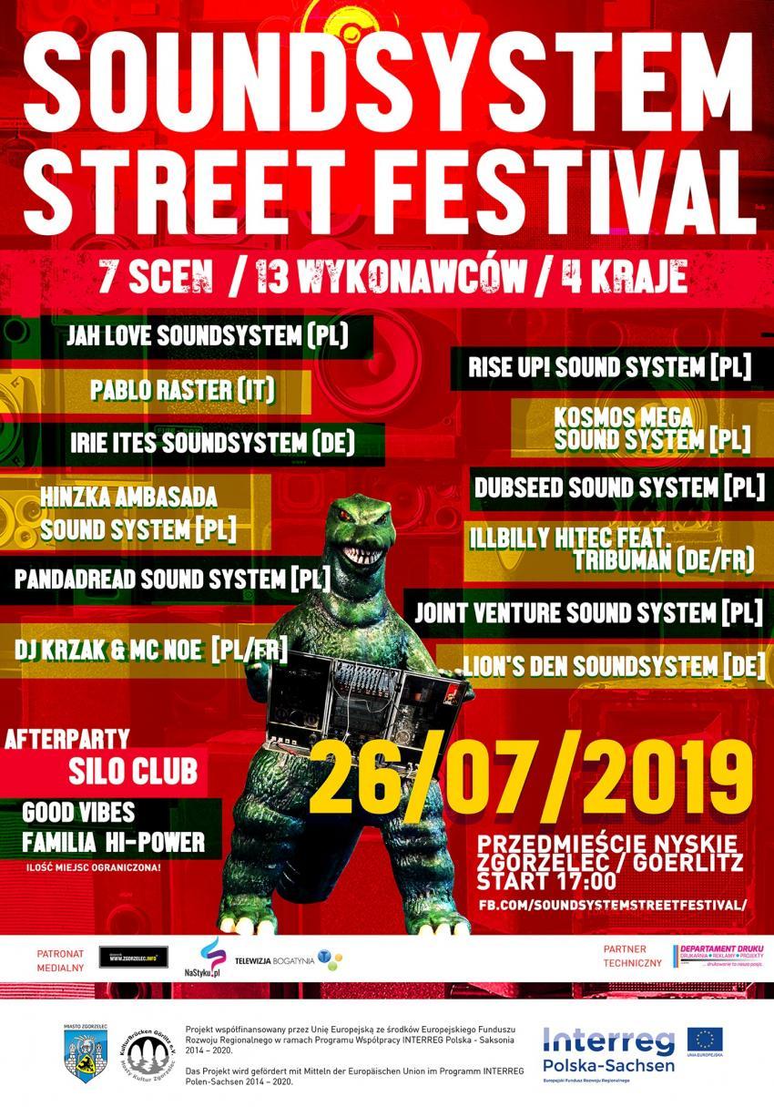 Program Soundsystem Street Festival Zgorzelec 2019: Kto, gdzie, kiedy wystąpi?