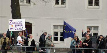 Protesty na polsko-niemieckiej granicy. Pracownicy transgraniczni domagają się otwarcia granic - zdjęcie nr 33