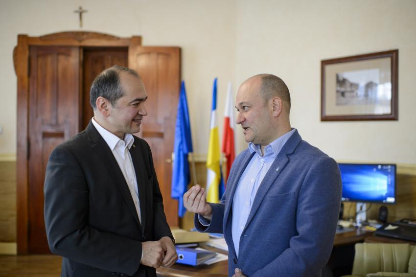 Octavian Ursu i Rafał Gronicz / fot. CDU-Stadtverband Görlitz