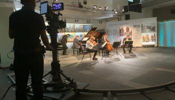 Francusko-niemiecka telewizja kręciła w Zgorzelcu / Zdjęcia: Frank Seibel i Emilian Tsubaki