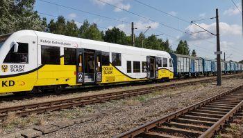 Koleje Dolnośląskie - wagon cargo / fot. KD