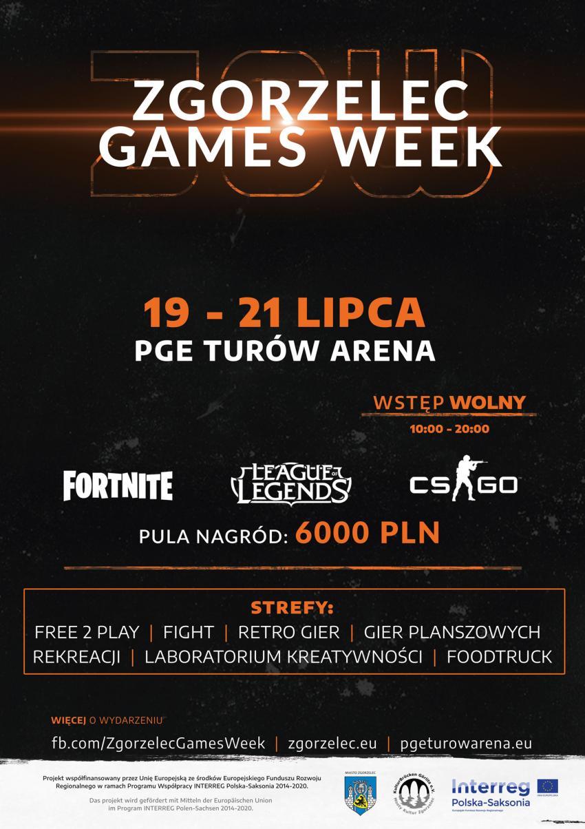 Program Zgorzelec Games Week Zgorzelec