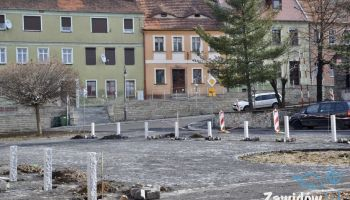 Przebudowa Placu Zwycięstwa w Zawidowie / fot. UM Zawidów