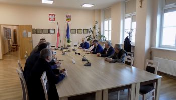 Spotkanie w sprawie przebudowy dworca kolejowego w Węglińcu / fot. UGiM Węgliniec