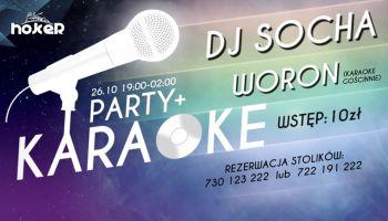 HOKER Party + Karaoke - DJ Socha i Woron