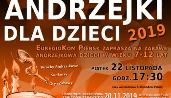 Zabawa Andrzejkowa 2019 dla dzieci w Pieńsku