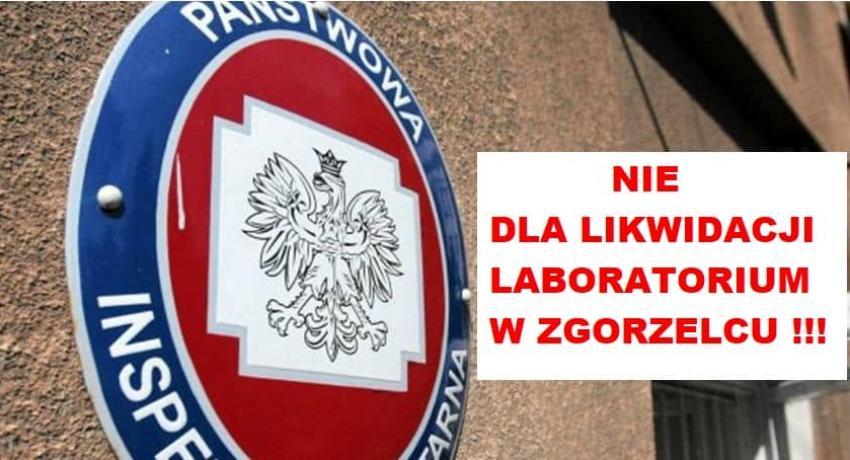 """""""Nie!"""" dla likwidacji zgorzeleckiego laboratorium sanepidu!"""