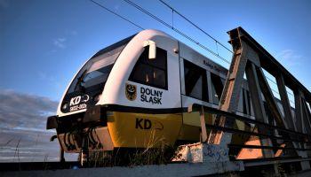 Pociąg Kolei Dolnośląskich / fot. KD
