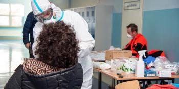 Nauczyciele w Bogatyni testowani na obecność SARS-CoV-2 - zdjęcie nr 6