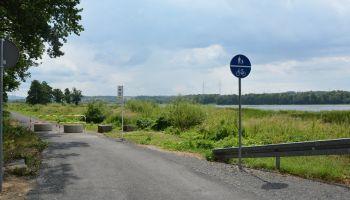 Odcinek szlaku rowerowego wokół Witki przebiegający przez teren Gminy Sulików  / fot. Gmina Sulików