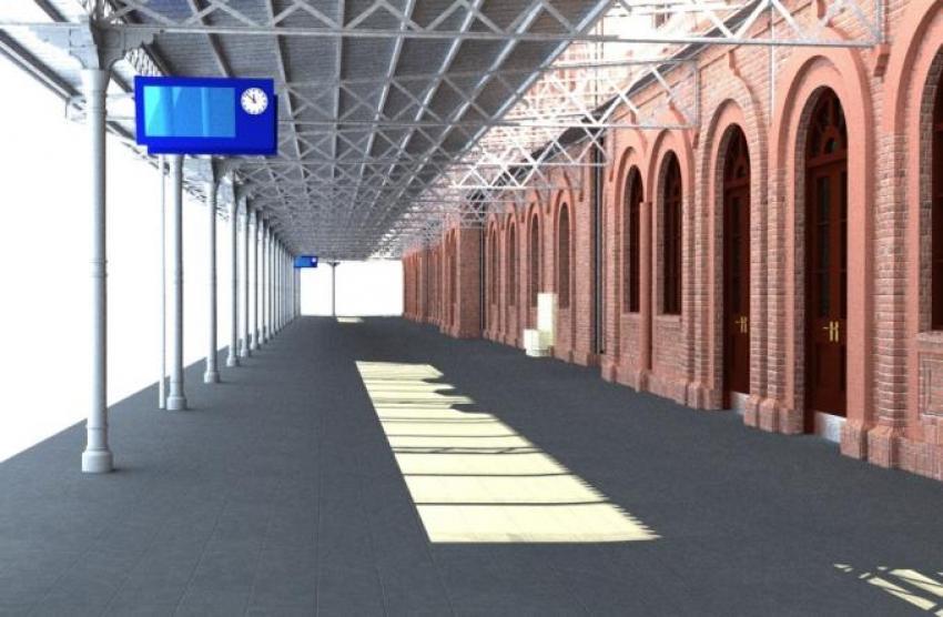 Tak będzie wyglądał dworzec kolejowy w Węglińcu po przebudowie. Zobacz wizualizację! - zdjęcie nr 15