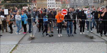 Protesty na polsko-niemieckiej granicy. Pracownicy transgraniczni domagają się otwarcia granic - zdjęcie nr 39