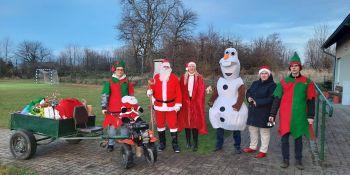 Mikołaj odwiedził gminne miejscowości - zdjęcie nr 11
