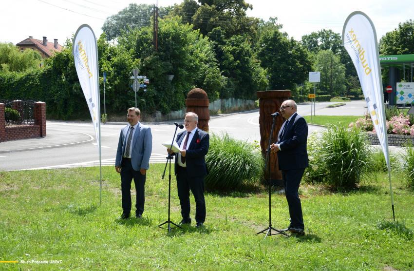Oficjalnie otwarcie drogi nr 353 Pieńsk-Strzelno