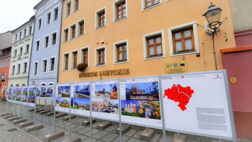Architektura Dolnego Śląska - wystawa plenerowa na Przedmieściu Nyskim w Zgorzelcu