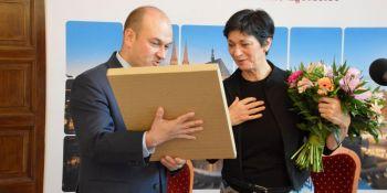 Bente Kahan odebrała Nagrodę Mostu - zdjęcie nr 11