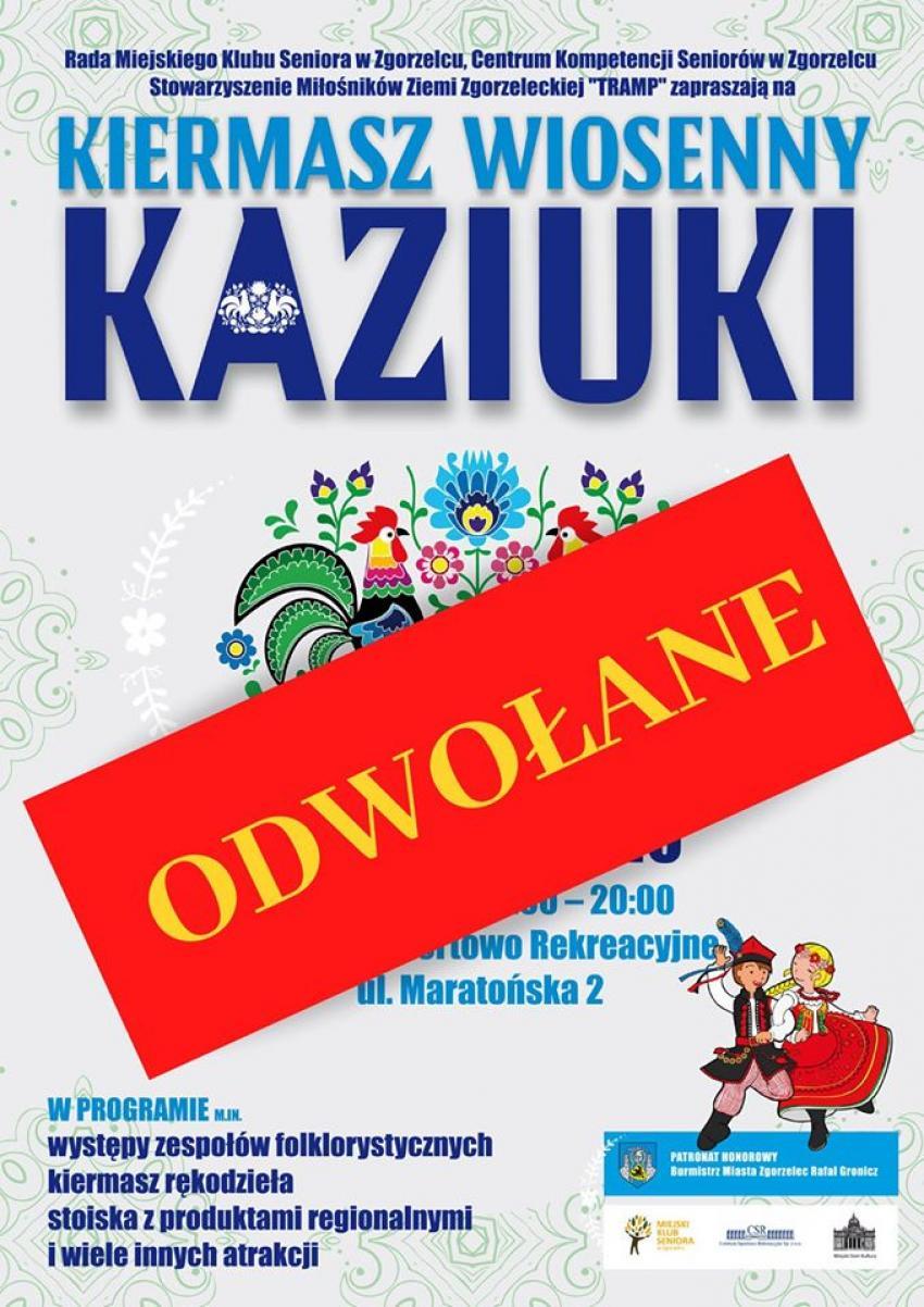 Kaziuki 2020 w Zgorzelcu - IMPREZA ODWOŁANA