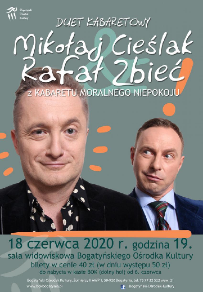 Mikołaj Cieślak & Rafał Zbieć w Bogatyni