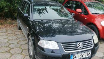 Skradziony w powiecie lubańskim VW Passat / fot. KPP Zgorzelec