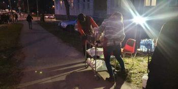 Mieszkańcy Zgorzelca pomagają! Kierowcy, którzy utknęli na autostradzie dziękują! - zdjęcie nr 13