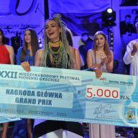 Zgłoszenia do konkursu Grand Prix XXIII Międzynarodowego Festiwalu Piosenki Greckiej