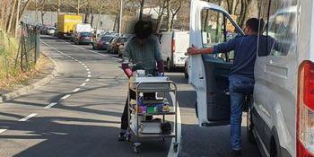 Mieszkańcy Zgorzelca pomagają! Kierowcy, którzy utknęli na autostradzie dziękują! - zdjęcie nr 19