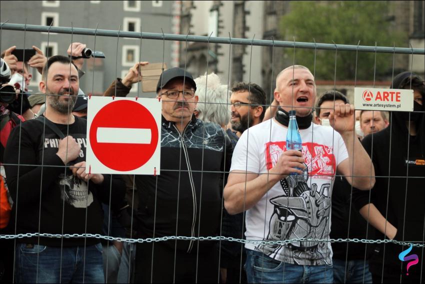 Protesty na polsko-niemieckiej granicy. Pracownicy transgraniczni domagają się otwarcia granic - zdjęcie nr 44