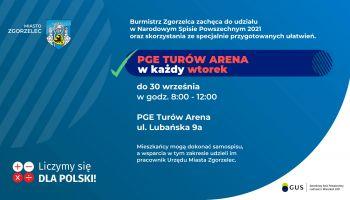 Spisz się! Nowy punkt spisowy NSP 2021 w Zgorzelcu!