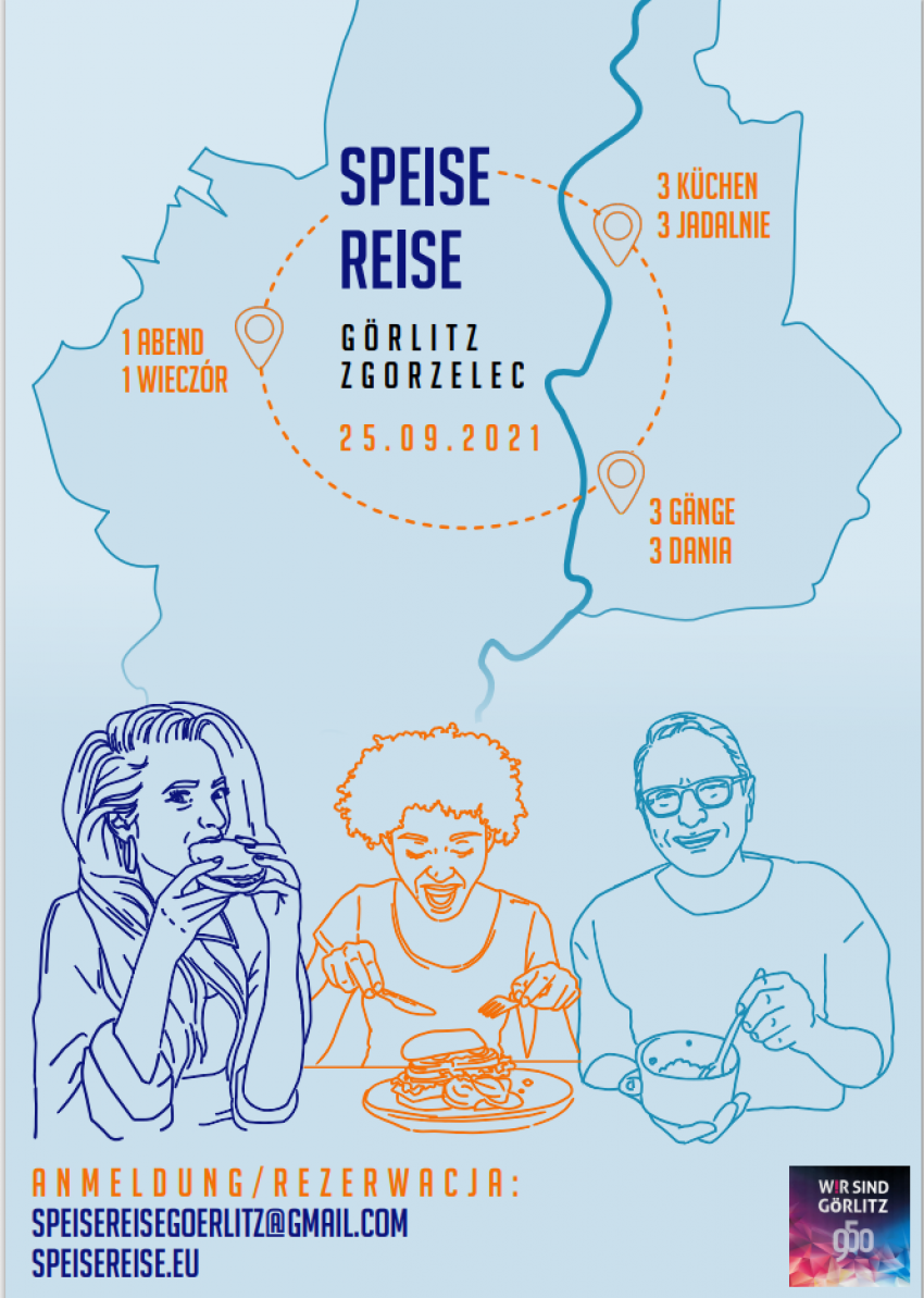 """""""SpeiseNeiseReise"""", czyli podróż przez posiłki po obu stronach Nysy"""