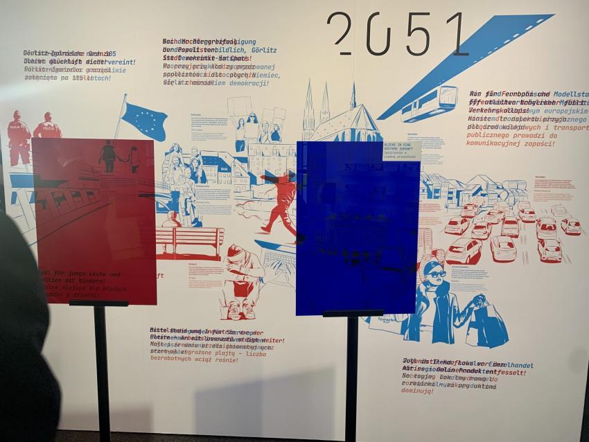 """Wystawa: """"950 lat przyszłości Görlitz / Zgorzelec"""""""