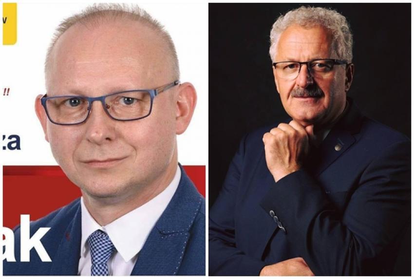 Wojciech Błasiak, Mariusz Wieczorek (fot. facebook)