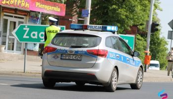Zgorzeleccy policjanci apelują o bezpieczne i rozważne poruszanie się po drogach