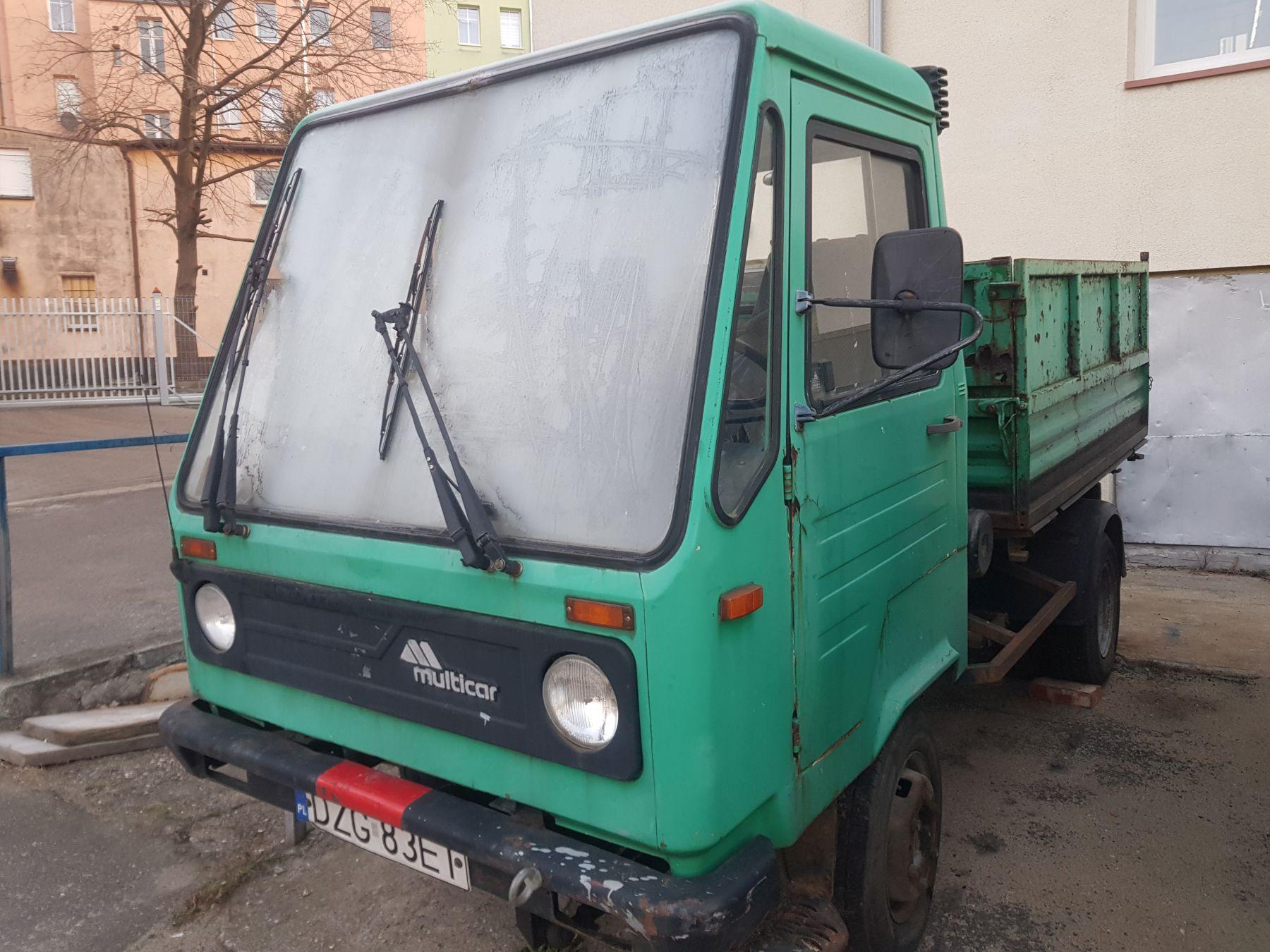 Multicar M26, wywrotka na sprzedaż