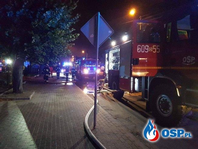 Pożar pustostanu w Węglińcu (16.08.2019 r.) / fot. osp.pl