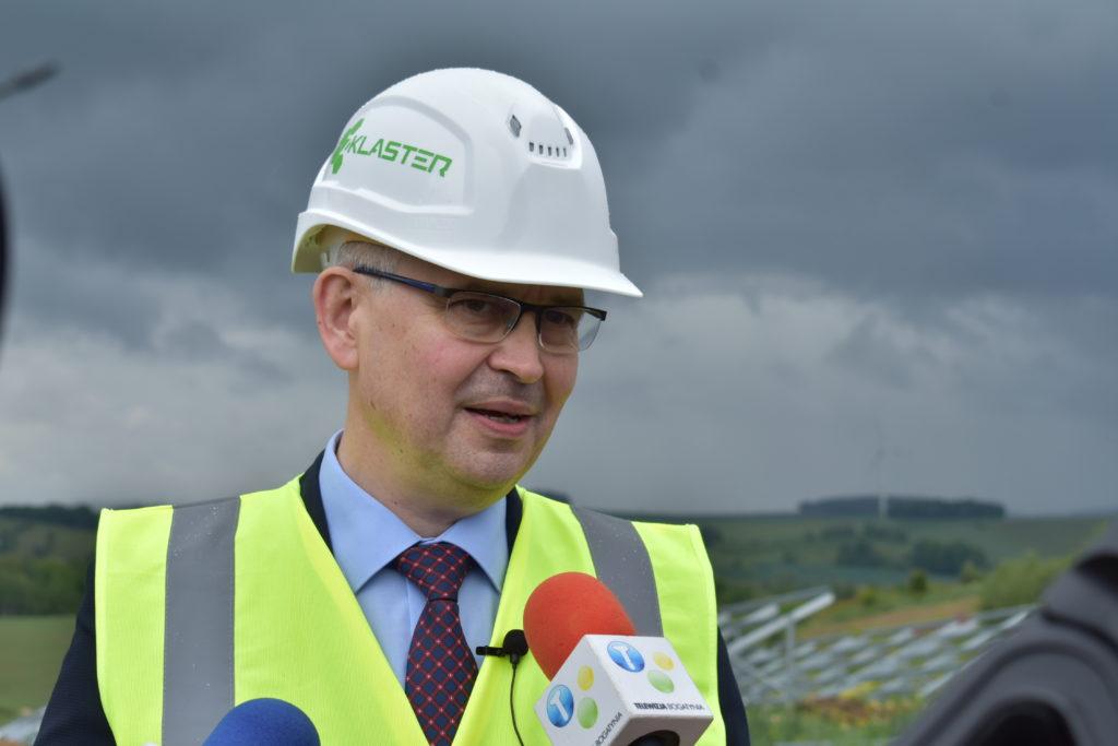 Ireneusz Zyska wiceminister klimatu i pełnomocnik rządu do spraw OZE / fot. ZKlaster