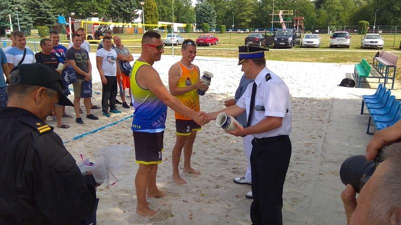 Mistrzostwa Województwa Dolnośląskiego Strażaków PSP w Siatkówce Plażowej / fot. KP PSP Zgorzelec