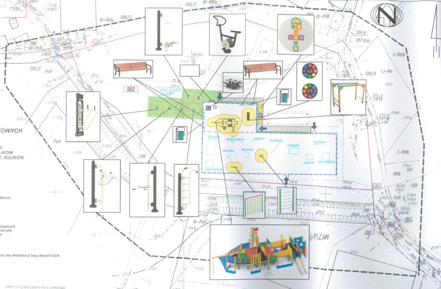Plan Otwartej Strefy Aktywności w Sulikowie