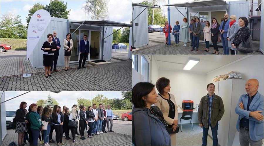 """Rozpoczęcie projektu """"TRAILS+ Mobilne Laboratoria Innowacyjności i Usług"""" w Zgorzelcu / fot. Trails - Traveling Innovation Labs and Services"""